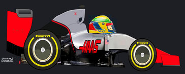 Esteban Gutierrez by Muneta & Cerracín - Sauber C32 - Ferrari V8 del Sauber F1 Team de 2013