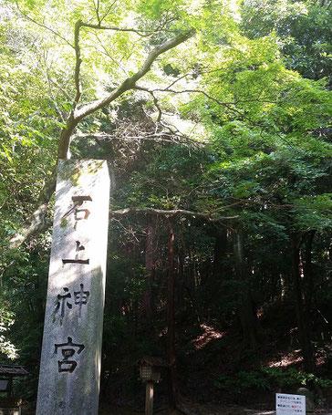 奈良の石上神宮(8月撮影)