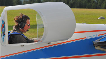"Ralf ""Gonzo"" Thomas Fournier RF-4D ist gerade leider an den Boden gebunden. (Foto: Peter Wirminghaus)"