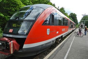региональный поезд немецкийх железных дорог