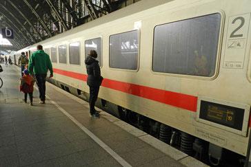 Интерсити поезд Германия