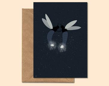 Love Light - greeting card