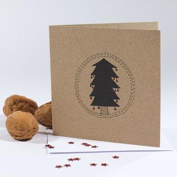 Christmas Tree - greeting card