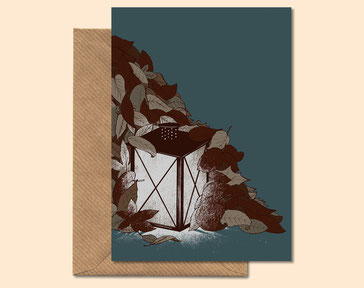 Autumn Light - greeting card
