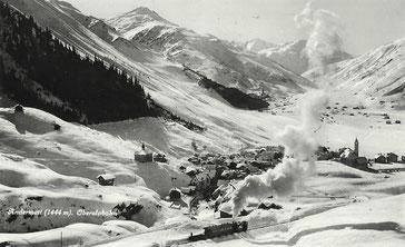 Kunstverlag E. Goetz Luzern, gestempelt 29.07.1931