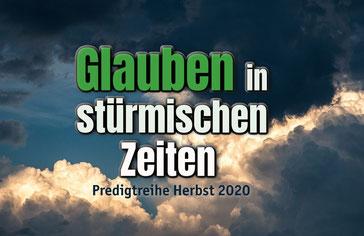 Predigtreihe Herbst 2020 - Erlöserkirche München