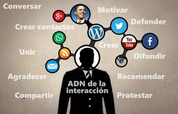 El ADN de la interacción ciudadana en Latinoamerica, Obama aparece como Modelo iniciador.