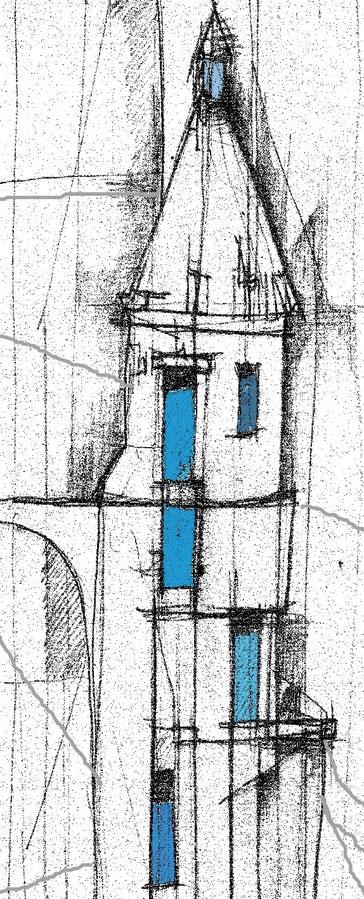 Lichtsturm - Die weiße Festung. Grafik: IVE