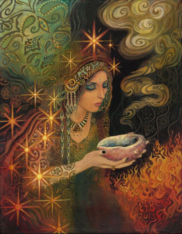 """Sagegoddess"" by Emily Balivet"