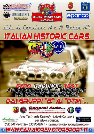 Italian historic cars camaiore