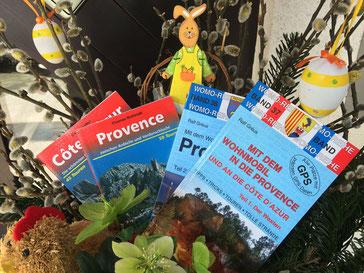 Rother Wanderführer Provence und womo Band 37 und 38