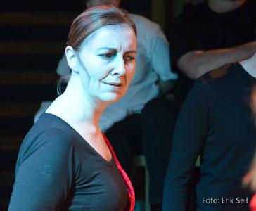 Bettina Strang auf der Bühne von ungeschminkt e. V., Hamburg