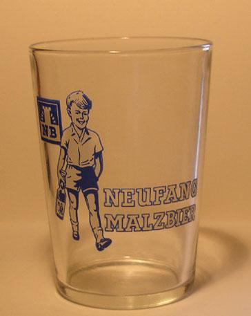 Neufang Malzbier NB Bierglas