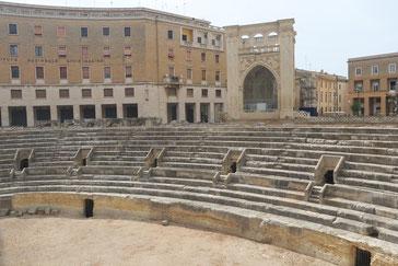 Römisches Amphitheater von Lecce