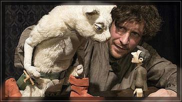 """""""Die gestiefelte Katze"""" Daniel Wagner vom Theater Zitadelle  Foto: Klaus Zinnecker"""