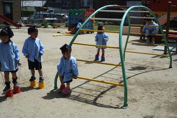 子どもたちも晴れやかな笑顔を見せてくれました。