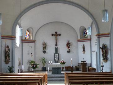 Antoniuskapelle Chorraum