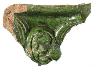 """Fragment """"Narrenkachel"""", Universität Innsbruck, Institut für Archäologin"""