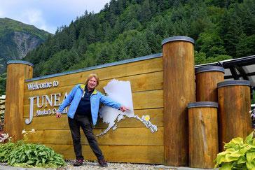 Juneau ist nur per Schiff oder aus der Luft erreichbar