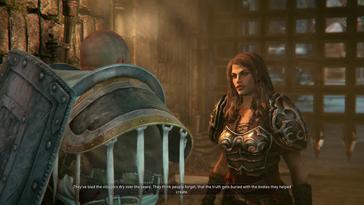 Ab und an trefft ihr auch wohlgesonnene NPC und nicht alle sehen so gut aus wie diese Dame [Quelle: City Interactive]