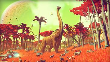 Die Flora und Fauna ist farbenfroh [Quelle: Hello Games]