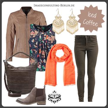 """Outfit für den Herbsttypen oder """"warm & deep"""""""