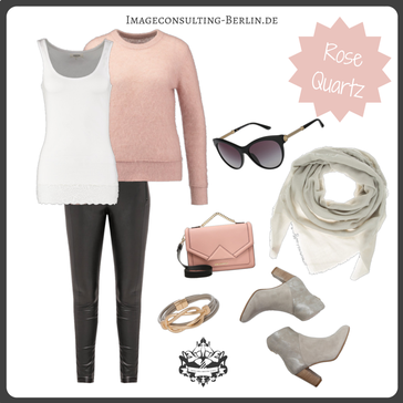 """Outfit für den Wintertypen oder """"cool & clear"""""""