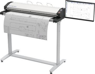 WideTEK 36CL MF3 MFP Lösung für HP DesignJet und PageWide Drucker