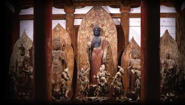 室生寺金堂の仏像