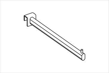 Кронштейн прямой на прямоугольную трубу