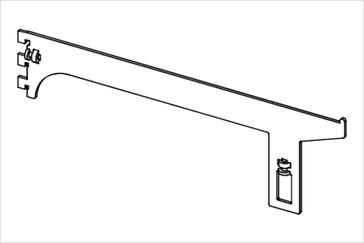 Держатель прямоугольной трубы, проходной
