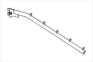 Кронштейн наклонный на стойку