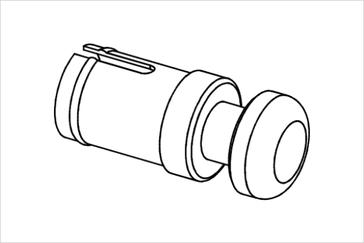Заглушка в трубу диаметром 25 мм