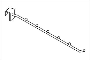 Кронштейн наклонный на прямоугольную трубу