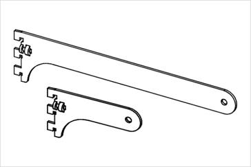 Держатель трубы диаметром 25 мм, концевой