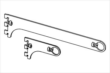 Держатель трубы диаметром 25 мм, проходной