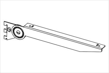 Кронштейн с регулировкой угла наклона
