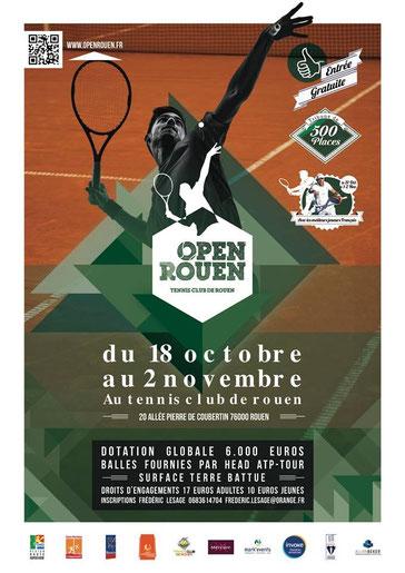 open de tennis de rouen