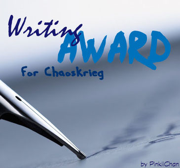 Writing Award für Chaoskrieg