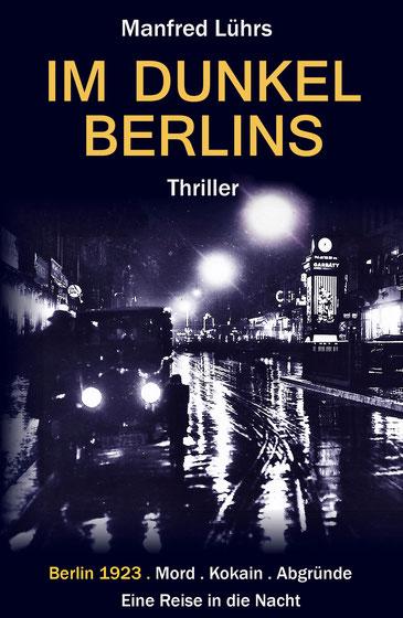 Die Lichter der Großstadt. Blick in die nächtliche Friedrichstraße. Berlin,  zwanziger Jahre.