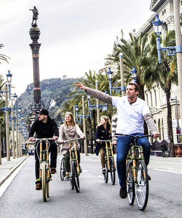 Bamboo Bike Tours in Barcelona