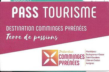 Avec Pass Tourisme  3 €