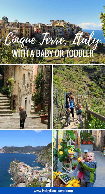 Travelling to Cinque Terre, Italy with a baby or toddler? Read this first! |Family Travel | Travel with infant, baby or toddler | Cinque Terre, Italy |#familytravel #travelwithbaby #cinqueterre #italy
