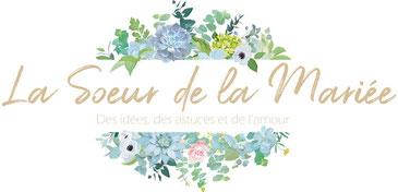 Label de publication de Daydream Events sur le blog mariage de la Soeur de la Mariée, mariage aux tons neutres et doux