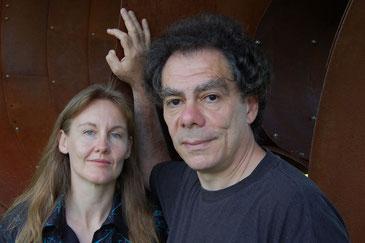 Ursel Schlicht & Robert Dick, photo by Ross Willows
