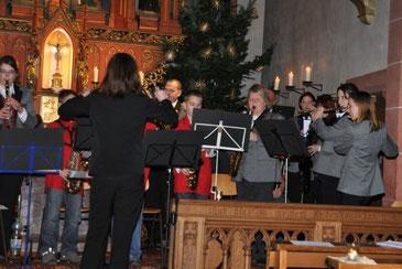Jugendorchester gemeinsam mit dem Orchester