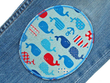 Bild: Wwal Hosenflicken Knieflicken zum aufbügeln für Kinder