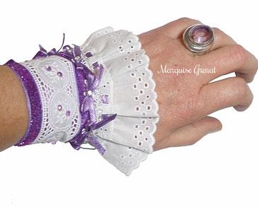 photo-headband-createur-brode-blanc-argente-presente-sur-tete-mobile