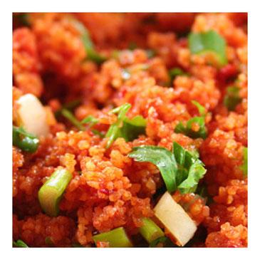 Kisir, Turkse bulgur salade