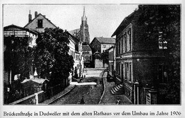 dudweiler, altes rathaus, 1874
